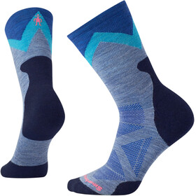 Smartwool W's PhD Outdoor Approach Crew Socks Blue Steel